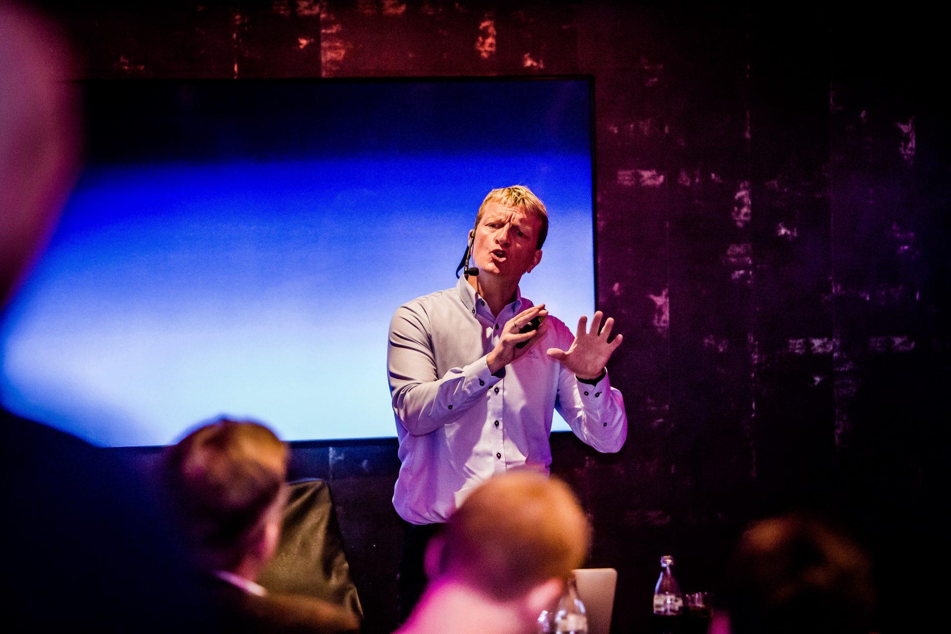 Foredragsholder priser: Erik Hanøy har holdt foredrag i 25 år.