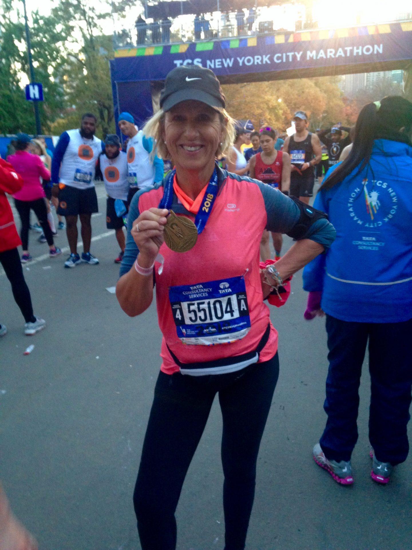 Vigdis etter New York maraton