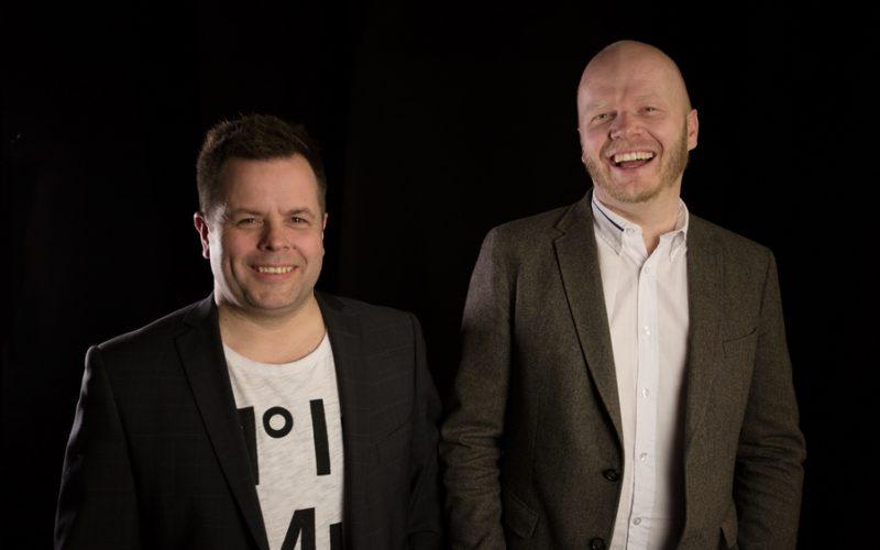 Thor Einar Krogh og Gunnar Bækkevold