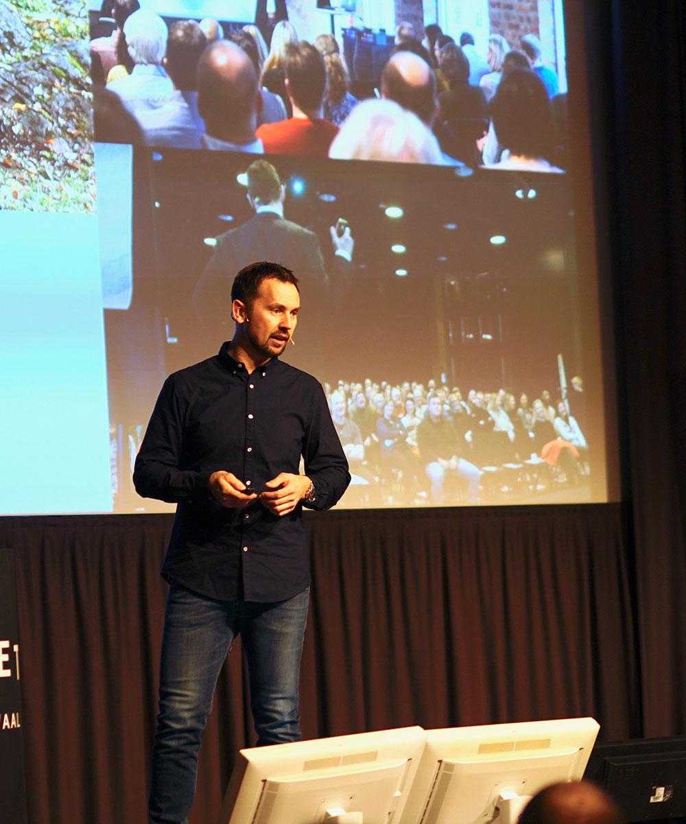 Jan Svaheim, eventprodusent og scenetrener for Sensum Experience